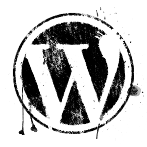 splatter-grunge-wordpress-logo